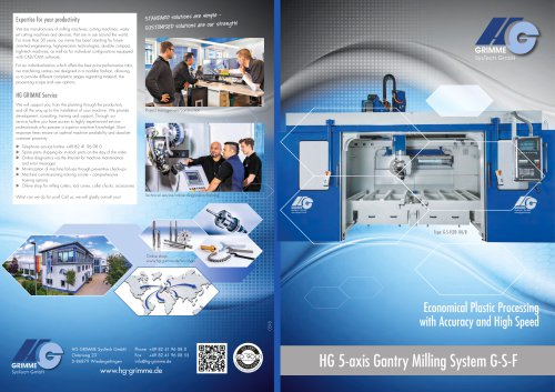HG 5-axis Gantry Milling System G-S-F