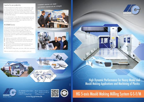 HG 5-axis Mould Making Milling System G-S-F/M