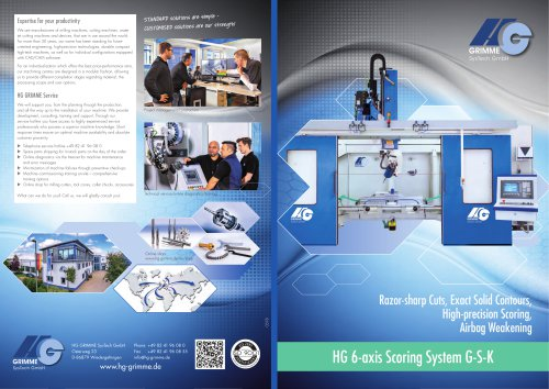 HG 6-axis Scoring System G-S-K