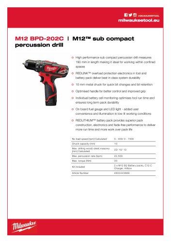 M12 BPD-202C