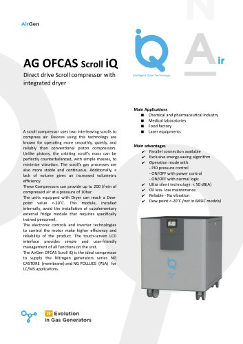 AG OFCAS Scroll iQ