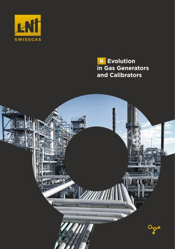 Gas generators and calibration systems for industries and emissions