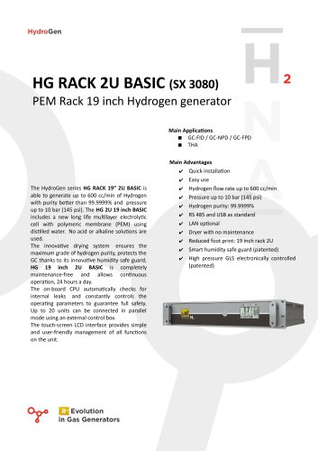 HG RACK 2U BASIC (SX 3080)