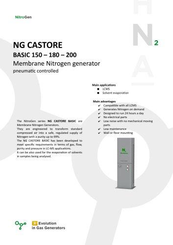 NG CASTORE BASIC 150 – 180 – 200