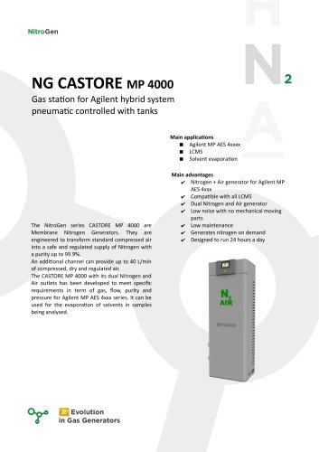 NG CASTORE MP 4000