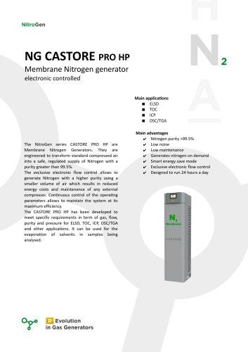 NG CASTORE PRO HP