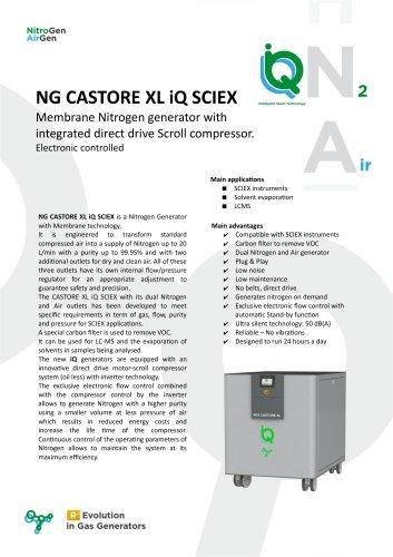 NG CASTORE XL iQ SCIEX
