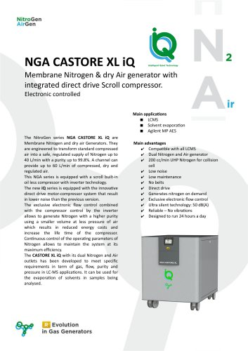 NGA CASTORE XL iQ