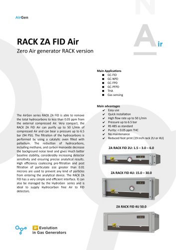 RACK ZA FID Air