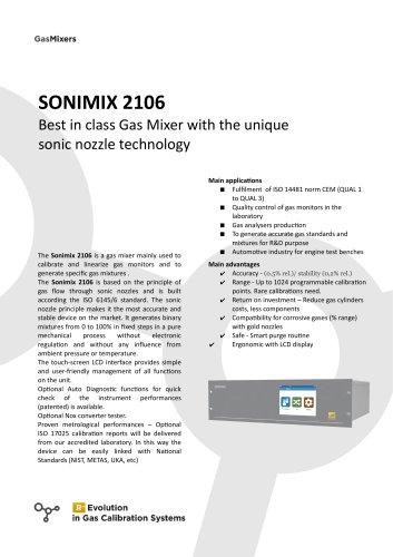 SONIMIX 2106