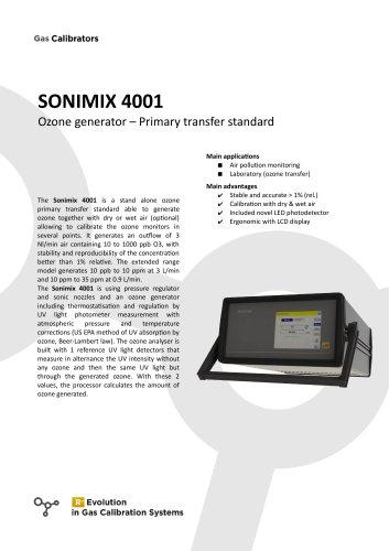 SONIMIX 4001