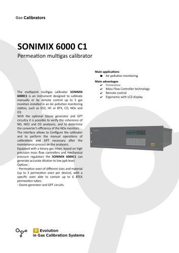 SONIMIX 6000 C1