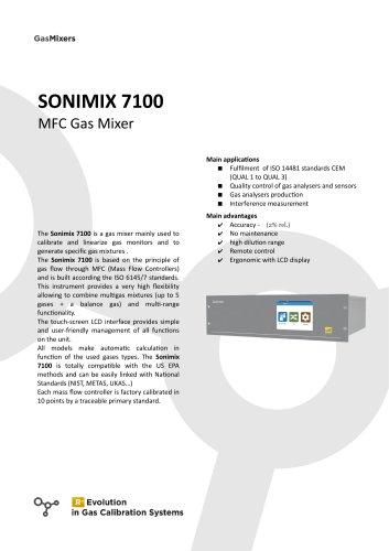 SONIMIX 7100