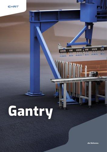 Material storage system - Gantry