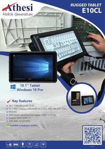 Rugged tablet E10CL
