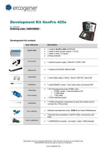 Development Kit GenPro 425e