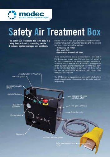 Safety Air Treatment Box - SAT Box