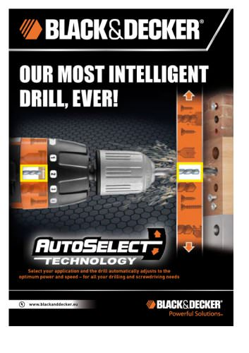 AutoSelect® Cordless Drill