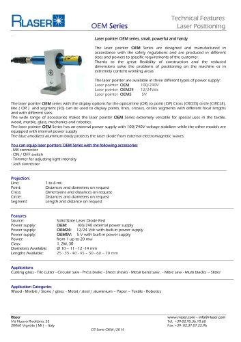 Laser pointer OEM series