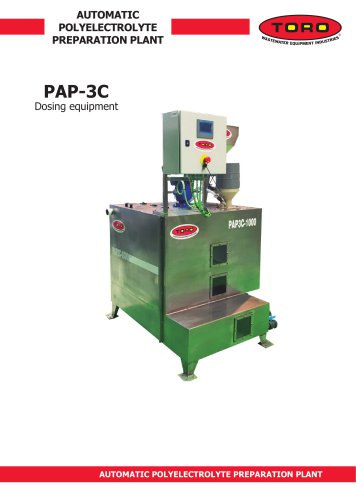 Automatic Polyelectrolyte Preparation Plant