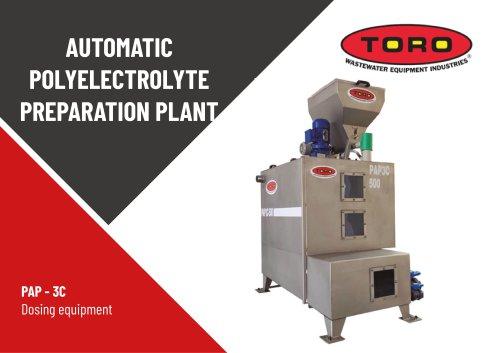 Automatic Polyelectrolyte Preparation Plant PAP-3C
