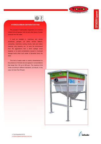 Hydrocarbon Separator DEFENDER