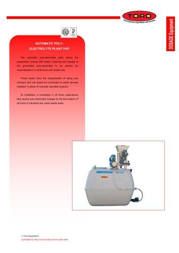 Polyelectrolyte Preparation Plant