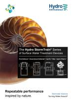 The Hydro StormTrain® Series