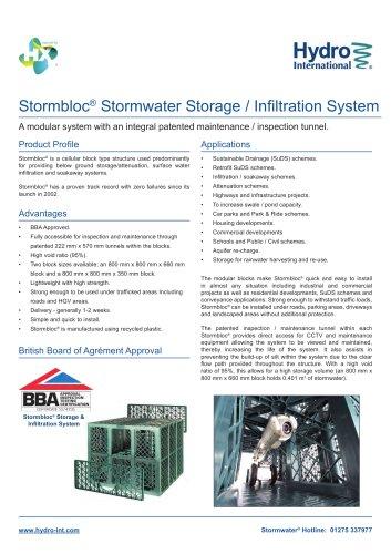 Stormbloc Storage / Infiltration System