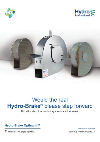 Would the real Hydro-Brake® please step forward