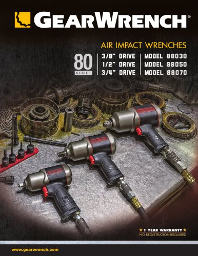 80 Series Air Impact Wrenches