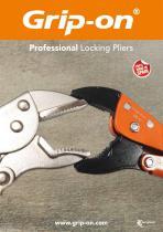 Grip-on Tools Professiona Locking Pliers Catalogue