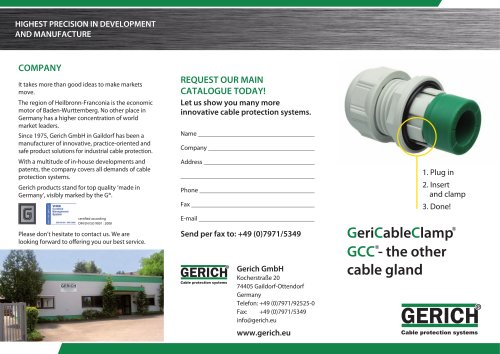GCC - the other cable gland