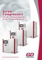 GD Compressors _ ESM/VS 30-132 series