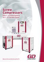 GD Compressors _ ESM/VS 7-22 series