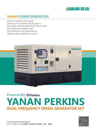 YANAN PERKINS DOUBLE FREQUECY GENERATOR SETS
