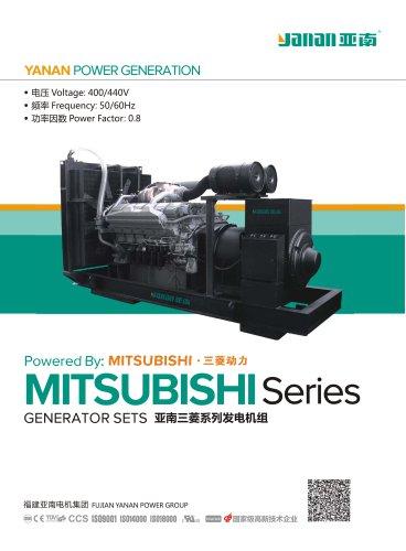 YANAN SL MITSUBISHI SERIES DIESEL GENERATOR SETS