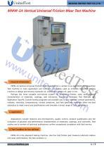 MMW-1A Universal Friction & Wear Testing Machine