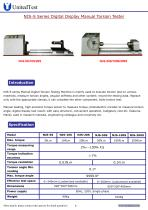 NJS-S Series Digital Display Manual Torsion Tester