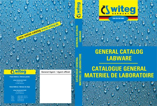 GENERAL CATALOG LABWARE