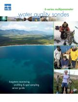 6-Series Multiparameter Water Quality Sondes