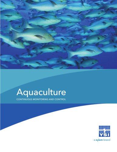 Aquaculture CONTINUOUS MONITORING AND CONTROL