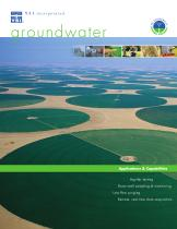 Groundwater Applications & Capabilities