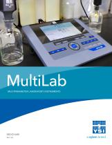 MultiLab MULTIPARAMETER LABORATORY INSTRUMENTS