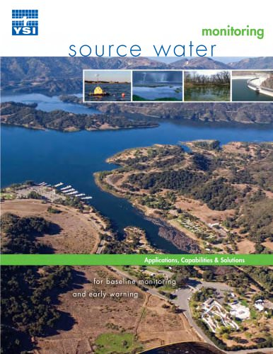 Source Water Monitoring - Applications, Capabilities & Solutions