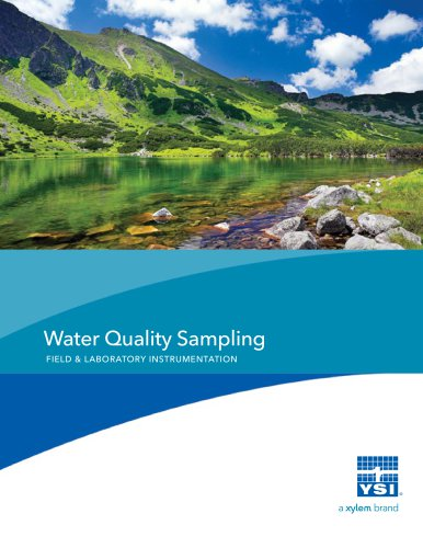 Water Quality Sampling Field and Laboratory Instrumentation