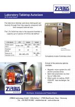Laboratory Tabletop Autoclave 24-72 Litres Volume