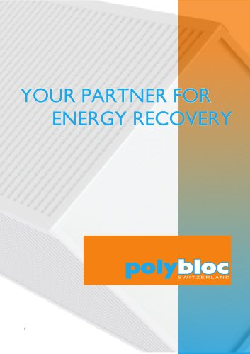 YOUR PARTNER FOR ENERGY RECOVERY