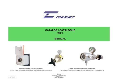 Cahouet Medical range 2021