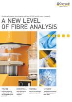 FIBRETHERM - A new level of fibre analysis - 1